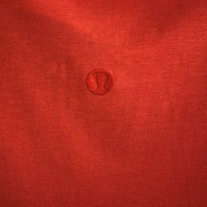 lululemon athletica Shirts - lululemon men's orange t-shirt szL 61130